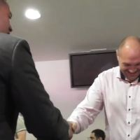 Tyson Fury Jokingly Heckles Joe Parker Ahead of Hughie Fury Fight