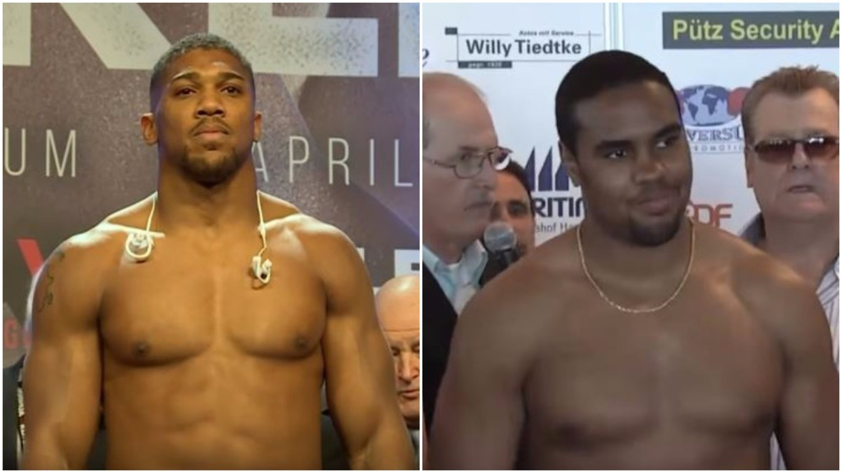 Boxer At The Centre Of Controversy Opens Up About Alleged Anthony Joshua Racist Messages
