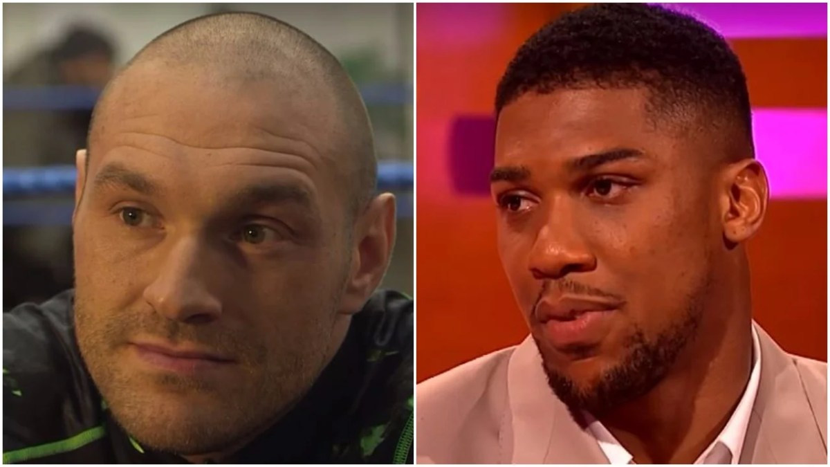 Fury Responds To Joshua Gruesome Comment and Blasts UKAD Case
