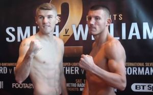 Live Liam Smith vs Liam Williams