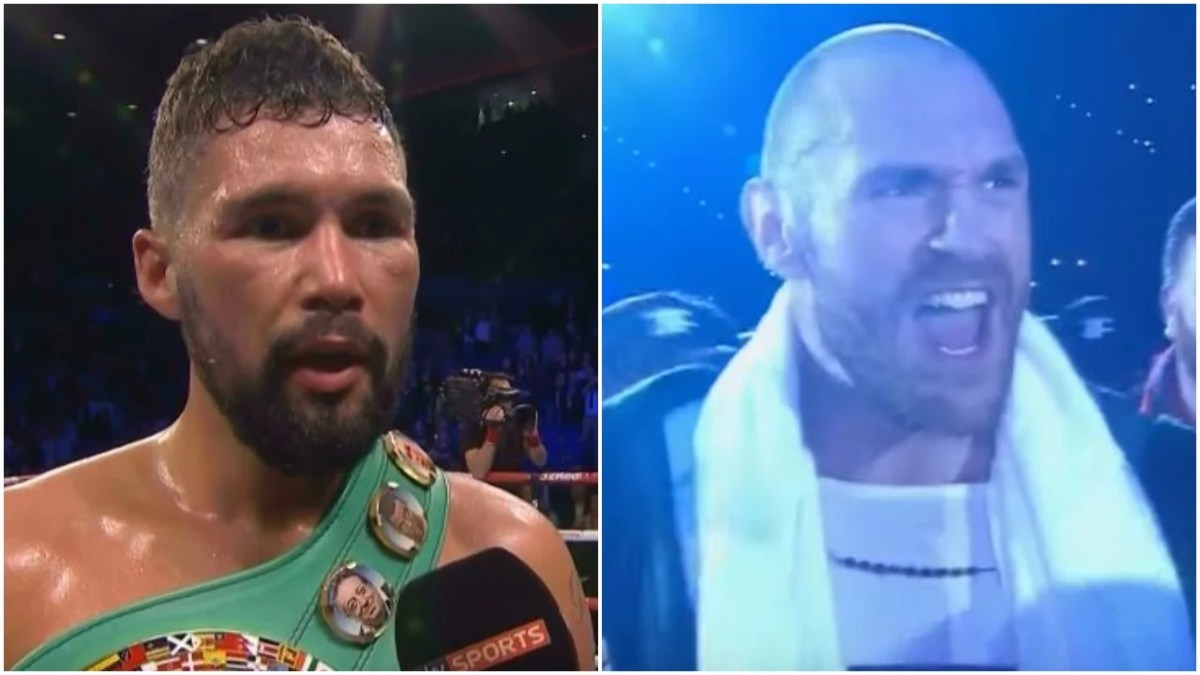 Tony Bellew Responds To Tyson Fury Call Out