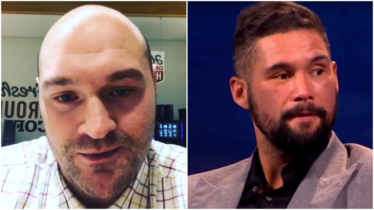 Tyson Fury Reacts To David Haye Pullout - Calls Out Tony Bellew