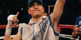 Young Undefeated Boxer