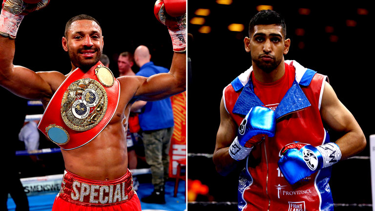 Amir Khan's Instant Response To Describe Kell Brook In 1 Word