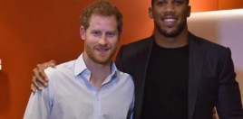 Anthony Joshua Offers To Be Prince Harry's