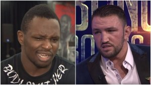Dillian Whyte Responds To Hughie Fury