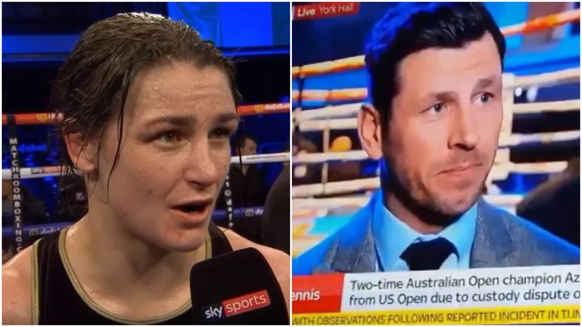 Sky Make Embarrassing Mistake About Katie Taylor Irish Nationality