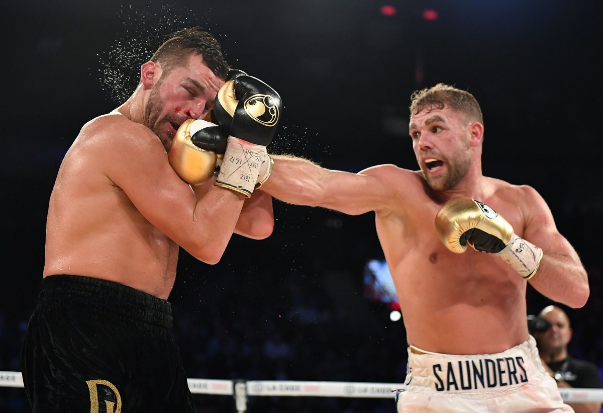 What Billy Joe Saunders Did After Ducking Punch From Lemieux Was A New Level Of Showboating