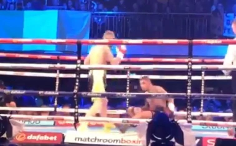 Watch: Conor Benn Knocked Down For The First Time In His Career