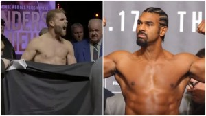 Billy Joe Saunders Trolls Heavyweight David Haye