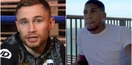 Carl Frampton Has Brilliant Response For Anthony Joshua's Friends