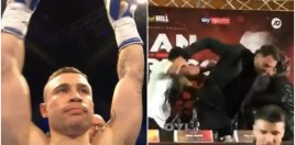 Carl Frampton Takes Dig At Bizarre Amir Khan