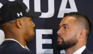 Joseph Parker Claims To Know Anthony Joshua's Weaknesses