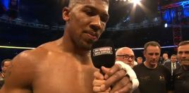 Anthony Joshua Given New Mandatory
