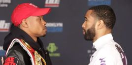 Spence vs Peterson Weigh In