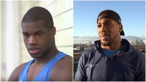 Daniel Dubois and Anthony Joshua