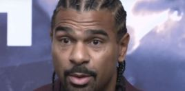 David Haye Reveals Ripped Physique