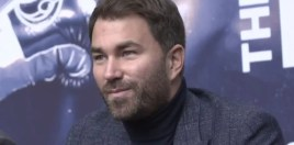 Eddie Hearn Questions David Haye