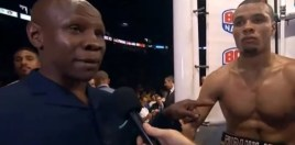 Eubank Sr Saying His Son