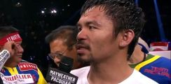 Pacquiao Shoulder Injury