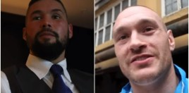 Tony Bellew v Tyson Fury
