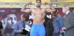 Khan v Lo Greco Weigh In