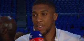 Joshua Reacts To Wilder vs Fury Talks and Fight