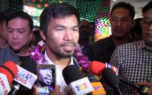 retirment not in manny pacquiaos mind