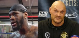 Deontay Wilder and Tyson Fury Speak On Camera About Signing Contracts For Heavyweight Title Fight