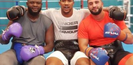 anthony joshua reveals both of his sparring partners ahead of povetkin fight