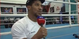 Anthony Joshua Reveals His Top 3 Toughest Opponents