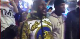 Close Up Clip Shows Mayweather Suggesting December To Pacquiao For Rematch