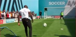 Dillian Whyte Returns To Soccer Challenge
