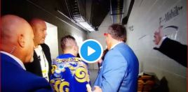 Footage Emerges Showing GGG's Immediate Reaction Backstage After Canelo Loss