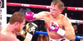 Footage Shows Huge Right Hand Landed By GGG On Canelo In Round 10
