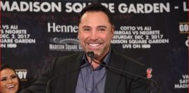 Oscar De La Hoya Reacts To Canelo Beating Golovkin and Can't Stop Laughing