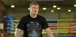 Povetkin Had A Surprised Reaction When He Saw Joshua In Person For The First Time
