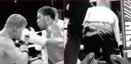 The Slow Motion Moment Anthony Joshua Knocked Out Povetkin
