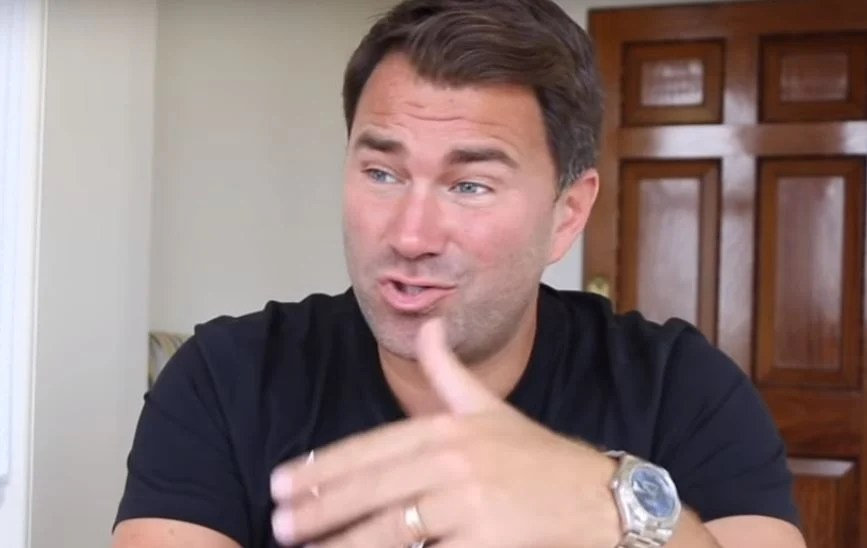 Eddie Hearn On Who He's Leaning Towards In Pacquiao vs Broner Fight