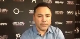 Oscar De La Hoya Gets Slaughtered By Fans For His Reaction To Conor McGregor's Loss