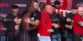 Watch Terence Crawford Throws Bare Knuckle Punch At Opponent
