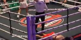 Boxing Fans Reacted Angrily To Harlem Eubank's Knockout Celebrations