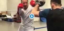 Fans Rate Conor McGregor's Dad's Boxing Skills As He Gets Ready For 60th Birthday Fight