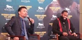 Manny Pacquiao Shows A Different Side To Himself With Adrien Broner