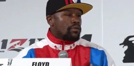 Mayweather Attempts To Explain What Is Going On With Choice Of Comeback Opponent