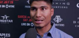 Mikey Garcia Reacts To Errol Spence March 16th Stadium Fight Reports