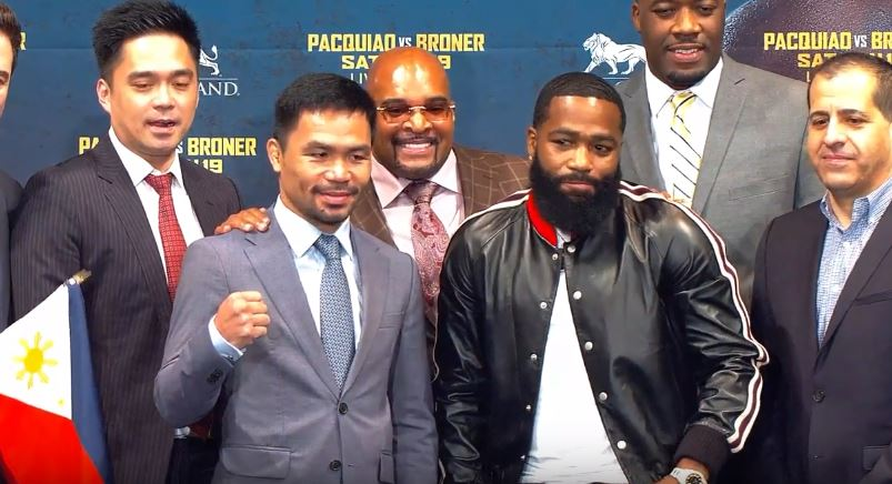 Pacquiao Responds To Rumors That He's Running For President