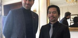 People Speculate Following Manny Pacquiao and Eddie Hearn Meeting