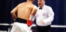 The Exact Moment That Caused The Donaire vs Burnett Fight To End