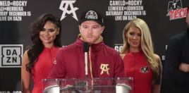 Canelo Alvarez Reaction Seconds After Brutally Knocking Out Sergey Kovalev